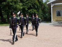 Zmiana warty honorowej przed Pałacem Królewskim w Oslo