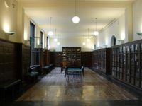 Stara czytelnia w Bibliotece Narodowej w Oslo