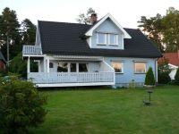 Typowy dom norweski pod Oslo