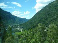 Przełom w górach