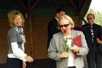Krystyna Greczycho - członek honorowy odbiera podziękowania