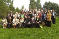 Wspólne zdjęcie na terenie Skansenu w Murzycach