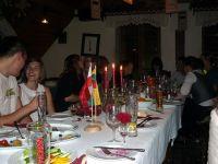 W czasie uroczystej kolacji
